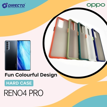 Picture of FUN Colourful Design Hard Case for OPPO RENO 4 PRO - PERFECT FITTING! Available in 6 colors