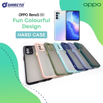 Picture of FUN Colourful Design Hard Case for OPPO RENO 5 - PERFECT FITTING! Available in 6 colors
