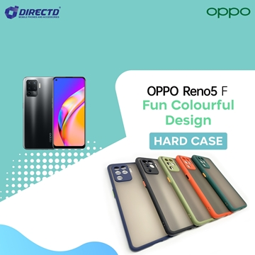 Picture of FUN Colourful Design Hard Case for OPPO Reno5 F - PERFECT FITTING! Available in 6 colors