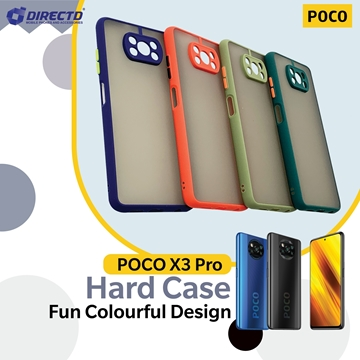 Picture of FUN Colourful Design Hard Case for POCO X3 PRO - PERFECT FITTING! Available in 6 colors
