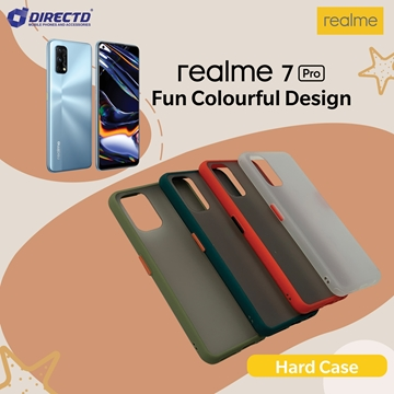 Picture of FUN Colourful Design Hard Case for realme 7 PRO - PERFECT FITTING! Available in 6 colors