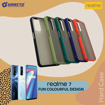 Picture of FUN Colourful Design Hard Case for realme 7 - PERFECT FITTING! Available in 6 colors