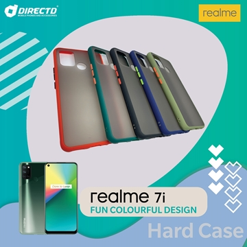 Picture of FUN Colourful Design Hard Case for realme 7i - PERFECT FITTING! Available in 6 colors