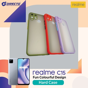 Picture of FUN Colourful Design Hard Case for realme C15 - PERFECT FITTING! Available in 6 colors