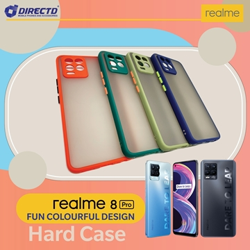 Picture of FUN Colourful Design Hard Case for realme 8 PRO - PERFECT FITTING! Available in 6 colors