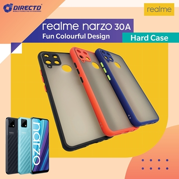 Picture of FUN Colourful Design Hard Case for realme Narzo 30A- PERFECT FITTING! Available in 6 colors