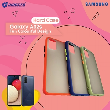 Picture of FUN Colourful Design Hard Case for SAMSUNG Galaxy A02S - PERFECT FITTING! Available in 6 colors
