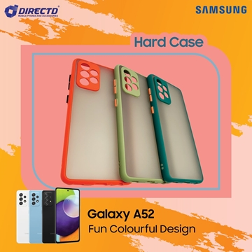 Picture of FUN Colourful Design Hard Case for SAMSUNG Galaxy A52 - PERFECT FITTING! Available in 6 colors