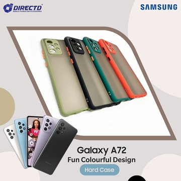 Picture of FUN Colourful Design Hard Case for SAMSUNG Galaxy A72 - PERFECT FITTING! Available in 6 colors