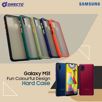 Picture of FUN Colourful Design Hard Case for SAMSUNG Galaxy M31- PERFECT FITTING! Available in 6 colors