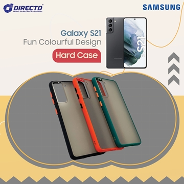 Picture of FUN Colourful Design Hard Case for SAMSUNG GALAXY S21- PERFECT FITTING! Available in 6 colors