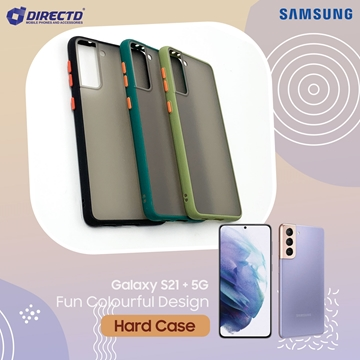 Picture of FUN Colourful Design Hard Case for SAMSUNG GALAXY S21 PLUS- PERFECT FITTING! Available in 6 colors
