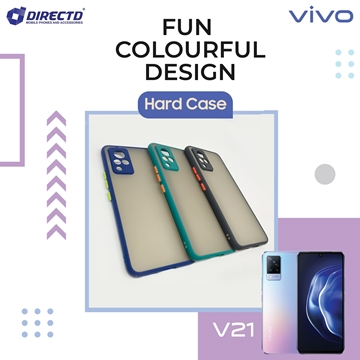 Picture of FUN Colourful Design Hard Case for VIVO V21 - PERFECT FITTING! Available in 6 colors