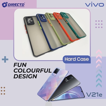 Picture of FUN Colourful Design Hard Case for VIVO V21E - PERFECT FITTING! Available in 6 colors