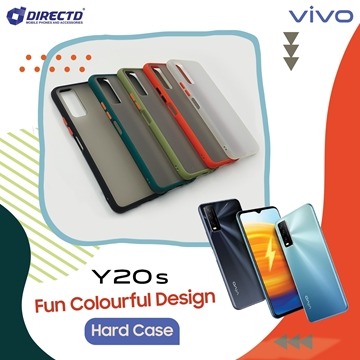 Picture of FUN Colourful Design Hard Case for VIVO Y20S - PERFECT FITTING! Available in 6 colors