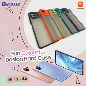 Picture of FUN Colourful Design Hard Case for XIAOMI Mi 11 lite - PERFECT FITTING! Available in 6 colors