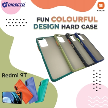 Picture of FUN Colourful Design Hard Case for XIAOMI Redmi 9T - PERFECT FITTING! Available in 6 colors