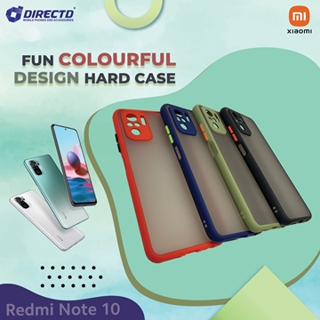 Picture of FUN Colourful Design Hard Case for XIAOMI Redmi NOTE 10 - Available in 6 colors