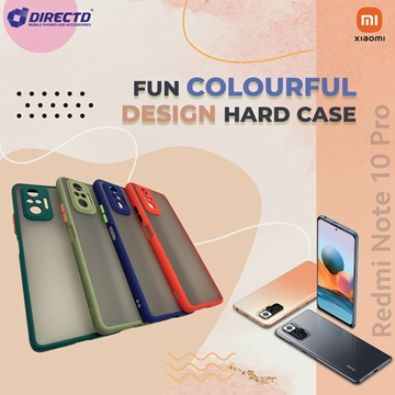 Picture of FUN Colourful Design Hard Case for XIAOMI Redmi NOTE 10 PRO - Available in 6 colors