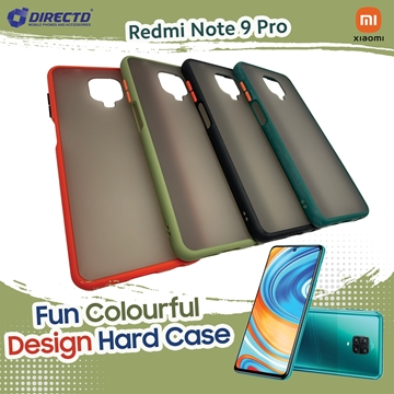 Picture of FUN Colourful Design Hard Case for XIAOMI REDMI NOTE 9 PRO - PERFECT FITTING! Available in 6 colors