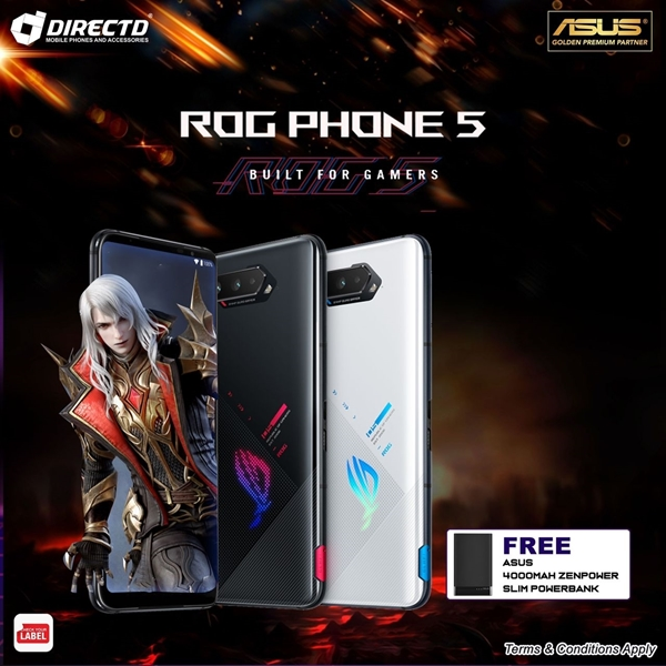 Picture of ASUS ROG phone 5 - THE MOST POWERFUL GAMING PHONE by ASUS ROG