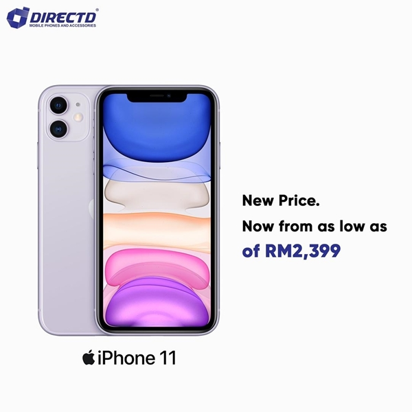 Picture of APPLE iPhone 11 - Your favourite iPhone at a new price! FROM RM2399