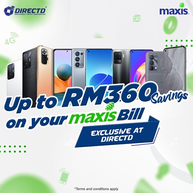 Picture for category Maxis Exclusive Deal @DirectD